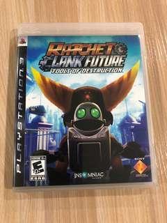 PS3 Ratchet Clank Future- Tools of Destruction