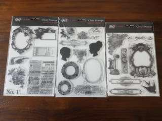 Clear Stamps from Glitz