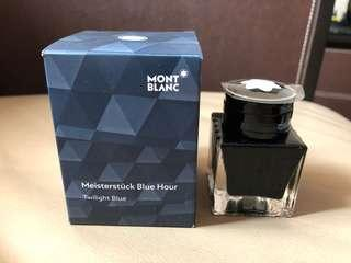 Montblanc Limited Edition - Blue Hour Fountain Pen ink