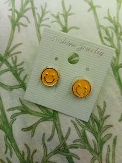 Happy Face Emoji Earrings