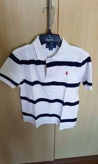 Worn Polo Ralph Lauren boys polo shirt