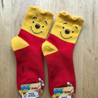 Pooh socks