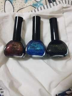 3 for $5 clio Nail Polishes
