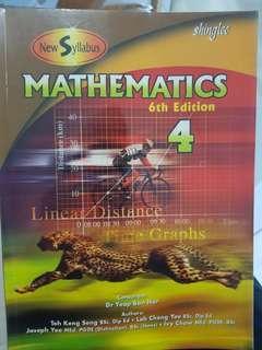 Mathematics Textbook Sec 4