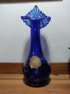 Egyptian glass vase