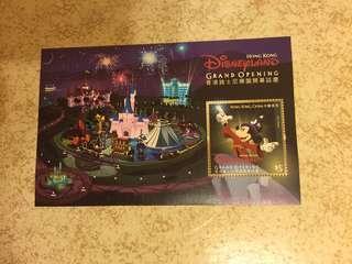 香港迪士尼樂園開幕誌慶 $5郵票