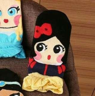 Snow White Socks