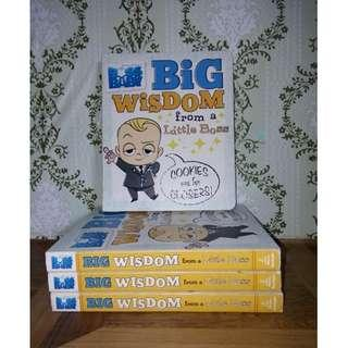Big wisdom from a Little Boss by R.J Cregg