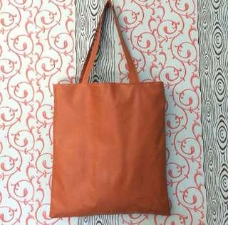 Totebag brown simple