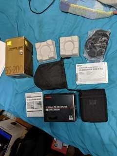 Lens boxes