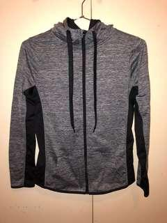 Grey Hoodie Size 8