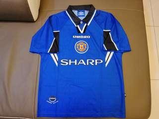 Original Vintage Umbro Manchester United 3rd Jersey 96/97