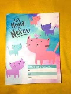 It's Meow or Never Exercise Book by The Paper Stone