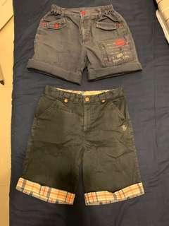 🚚 經典泰迪男童短褲