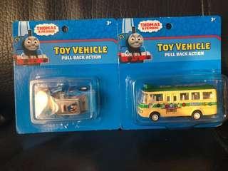 包順豐寄付thomas玩具車兩架