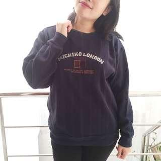 MICHIKO LONDON navy sweater