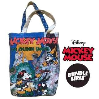 TOTE BAG DISNEY MICKEY MOUSE