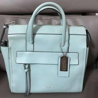 Coach bag (tiffany blue color)