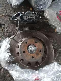 D1spec 4 pot dics brake
