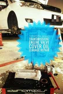 Toyota Axio/Allion/Altis : Engine & Transmission Oil Leakage Repair