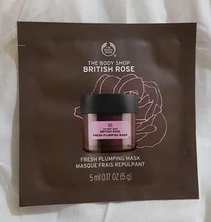 The Body Shop (TBS) Mask British Rose