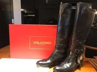 Strafford real leather boots