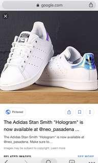 🚚 INSTOCK ADIDAS STAN SMITHS HOLOGRAPHIC HOLO HOLOGRAM