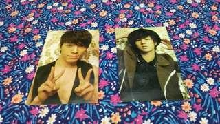 Super Junior Donghae & Yesung Photocards (2pcs)