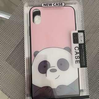 We bare bear iPhone xs max case