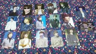 Super Junior Kyuhyun Fansite Photocards (50php/card)