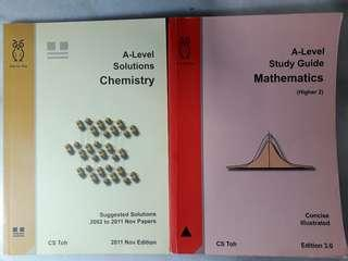 Step By Step A Level Chemistry and Mathematics Guide Book