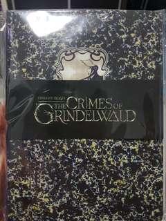 🚚 #SpringCleanAndCarousell 2x Fantastic Beasts Notebook The Crimes of Grindelwald