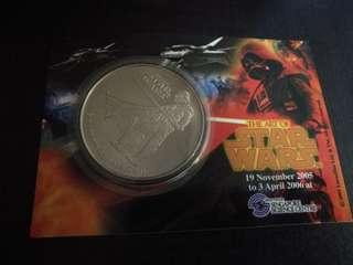 Star wars Limited edition Medallion Darth Vader -Year of the Dog 2006