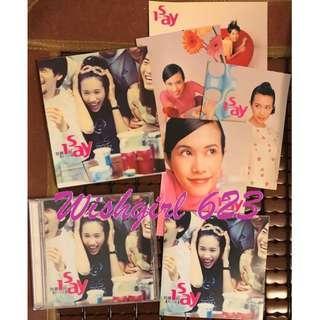 🚚 Karen Mok 莫文蔚 -『I SAY 我要說』第二張國語專輯CD (附明信片)~真的嗎、愛情、天籟之戰、我想和你唱