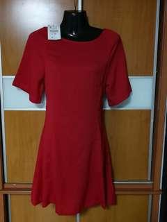 Brand New Classic Red Dress (S) bless - free mailing
