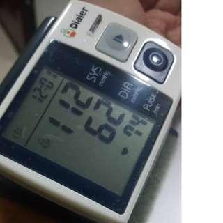 Health Care Wrist Portable Blood Pressure Monitor