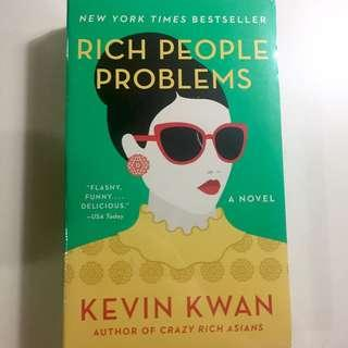 Rich People Problems - Kevin Kwan IMPORT NEW