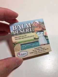 🚚 the Balm DESERT BRONZER 古銅餅
