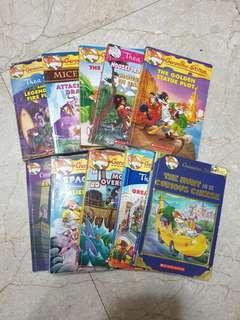 Geronimo Stilton Books $2 each
