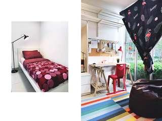 IKEA Full Furnished Room + Wifi + Utilities + Covered Parking for Rent