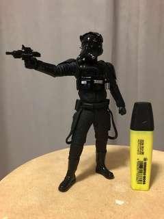 Star Wars first order Tie Fighter pilot bandai no box