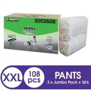 PETPET E-DayNight Pants Jumbo XXL36 (3 pack)