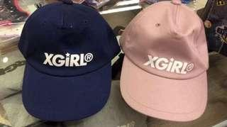 X-Girl 粉紅帽 日本製