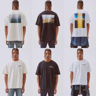 Fear Of God X Pacsun Essentials Photo Tee Shirt
