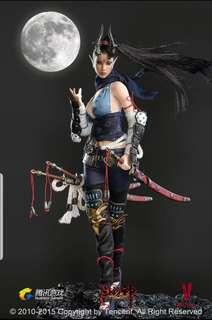 1/6 Lady warrior Dragon girl series COOL MOON