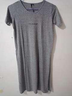 Long T-shirt gray