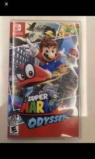 Nintendo switch mario odyssey