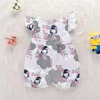 Baby girl rompers size 0-3m 3-6m 6-12m 12-18m