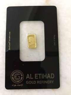 Gold bar eltihad