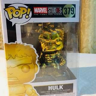 Hulk Gold Chrome (Marvel Studios: The First Ten Years)